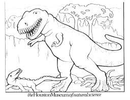 free dinosaur printable coloring pages pixelpictart com