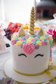 party cake real party magical unicorn party party pieces inspiration