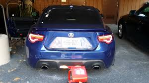 Valenti Lights Ultramarine Scion Frs With Valenti Sequential Tail Youtube