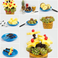 how to make fruit baskets how to make pretty fruit plate just smart fruit