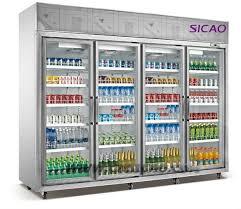 Glass Door Beverage Refrigerator For Home by 2 Glass Door 1150l Upright Commercial Draft Drink Display Freezer