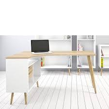 Weisser Schreibtisch Tvilum Wohnprogramm 75450 49ak Stockholm Eck Schreibtisch Weiß