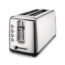 Clear Sided Toaster Cuisinart Stainless Steel Artisan Bread Toaster Cpt 2400 The