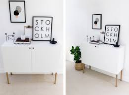 Ikea Legs Hack by Ikea Besta Hack Scandinavian Sideboard Cabinet Happy Grey Lucky