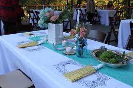 Baby Shower Centerpieces Boy by Photo Outdoor Baby Shower Themed Image