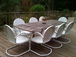 outdoor furniture metal