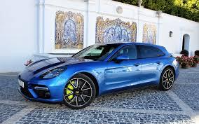 porsche panamera blue 2018 porsche panamera turbo s e hybrid sport turismo green