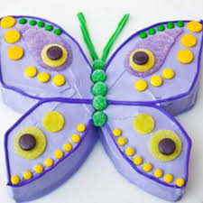 Butterfly Birthday Cake Design