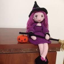 amigurumi witch pattern halloween crochet pattern cute witch samantha doll amigurumi pdf