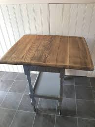 shabby chic farmhouse table shabby chic farmhouse table for 2 gate leg with drawer and casters