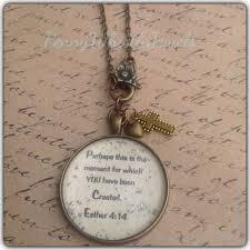 bible verse jewelry bible verse necklace esther 4 14 scripture necklace perhaps