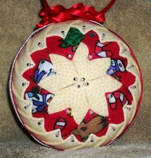 grandmother u0027s quilt christmas 8 handcrafted fabric ornament