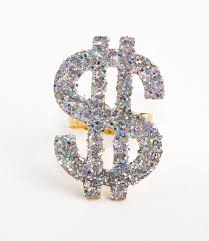 diamond studded diamond studded dollar bill stock image image of images rich