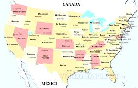 Political Map Us Usa And Canada Cities Map Us Cool Political Map Of Canada With