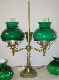 green glass shade bankers l glass student l shades antique parts 14 foter 18 1 yellow white