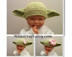 Yoda Halloween Costume Infant Baby Yoda Hat Etsy