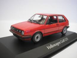volkswagen red vw golf ii gti 1985 red 1 43 maxichamps by minichamps 940054121
