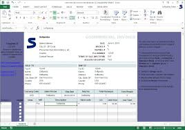 Excel Invoice Template 2003 Commercial Invoice Template