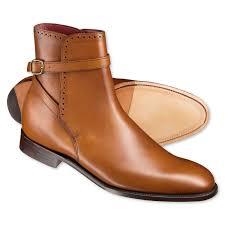 handmade mens fashion jodhpur ankle boots men tan ankle high