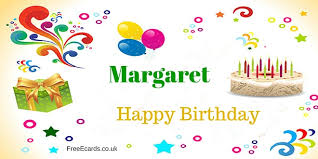 happy birthday margaret free ecards