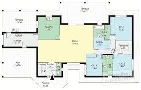 plan maison 5 chambres gratuit plan maison sans couloir 1 plan de maison 5 chambres plain pied