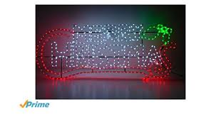 Christmas Rope Light Decorations Uk by Christmas Concepts 1 5 Metre Rope Light Merry Christmas Sign With
