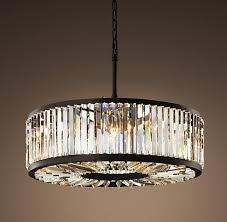 Chandelier Restoration Nice Round Crystal Chandelier Restoration Hardware Welles Crystal