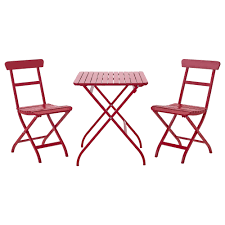 Patio Furniture Pub Table Sets - ikea bistro set homesfeed