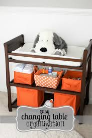 Changing Table Organizer Ideas Fantastic Changing Table Storage Organization Setup And Ideas