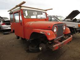 postal jeep for sale junkyard find 1968 kaiser jeep dj 5a with factory chevy power