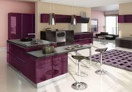 cuisine en violet cuisine mauve cuisine quipe blanc photo de cuisine