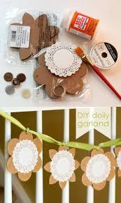 Crafty Home Decor Best 25 Doily Banner Ideas On Pinterest Paper Doilies Doily