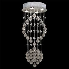 Chandelier Light Fixtures by Evrosvet Modern Crystal Glass Round Chandelier 4 Light 12