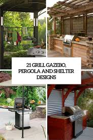 Small Gazebos For Patios by 21 Grill Gazebo Shelter And Pergola Designs Shelterness
