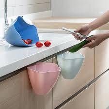 poubelle cuisine porte placard suspendus permanent des déchets bin placard porte mur poubelle