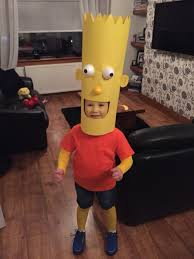 halloween costumes for nine year olds bart simpson halloween costume halloween pinterest simpsons