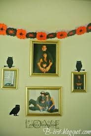 b is 4 fall halloween house decor and wordless wednesday with