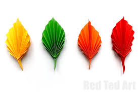 easy paper leaf ted s