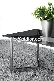Glass Center Table by Stainless Steel Glass Top Coffee Table Tea Table Center Table