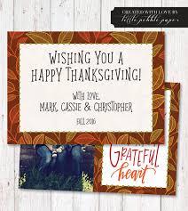 custom thanksgiving photo card thanksgiving cards printable
