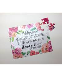 will you be my flower girl gift deals on flower girl puzzle will you be my flower girl