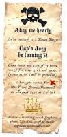Kids Halloween Birthday Party Invitations by 199 Best Pirate Party Images On Pinterest Pirate Theme Pirate