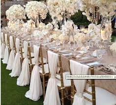chair sashes for weddings custom made chiffon chair sash 20 pieces per bag for