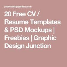 50 Best Resume Templates Design Graphic Design Junction by 2737 Best My Art Institute Images On Pinterest Mockup Cap D