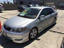 toyota corolla 2005 xrs 2005 toyota corolla xrs 4dr sedan in livingston ca california