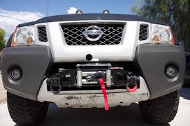 nissan frontier winch mount prg front winch mount page 2 second generation nissan xterra
