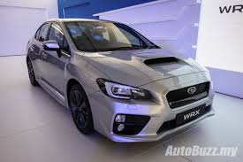 subaru sti 2017 new look subaru wrx u0026 wrx sti launched from rm238k video