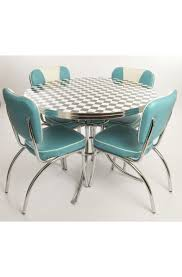 retro kitchen table and chairs set west side round table chairs for the home pinterest diners