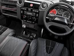 land rover defender 4 door interior kahn design land rover defender harris tweed edition car tuning