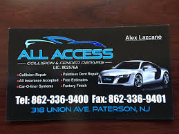 Estimate Work For Car by This Is Our Business Card Give Us A Call For A Free Estimate On